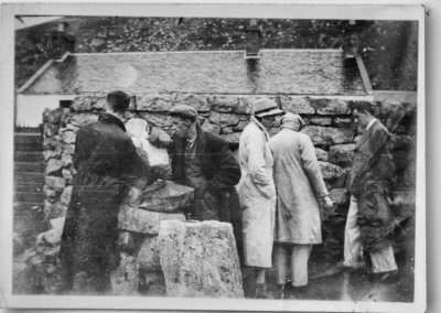 Signing the Visitors Book, St Kilda 1936