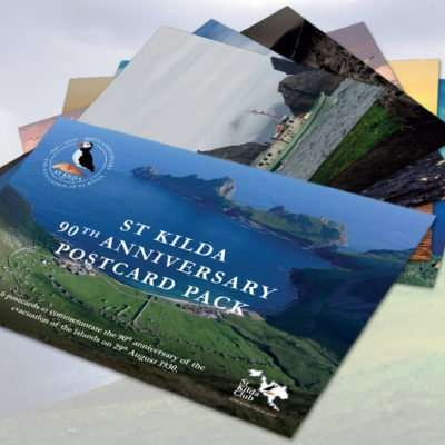 St Kilda 90th anniversary commemorative postcards