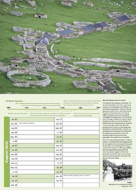 St Kilda 2021 Calendar inside