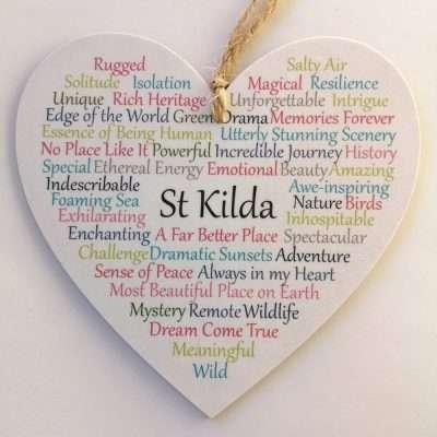 Large St Kilda heart