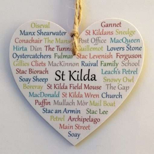 Small St Kilda heart