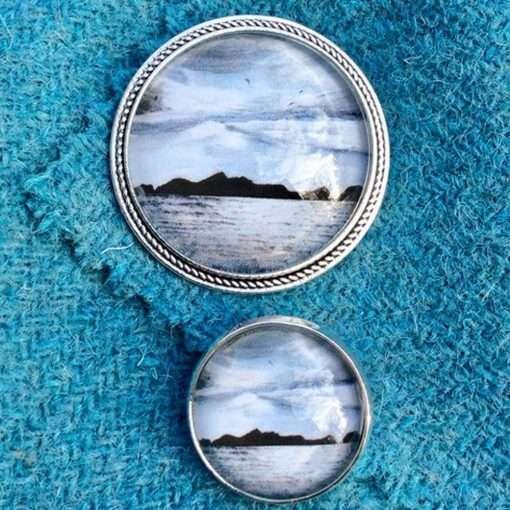 St Kilda Skies brooch