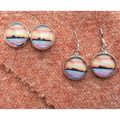 St Kilda sunset earrings