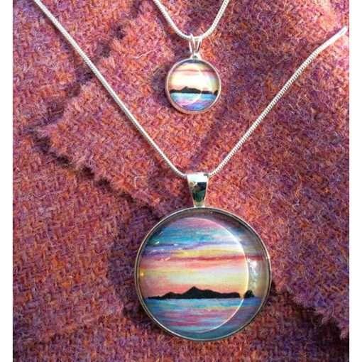 St Kilda sunset necklace