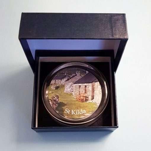 St Kilda Glass Paperweight in presentation box