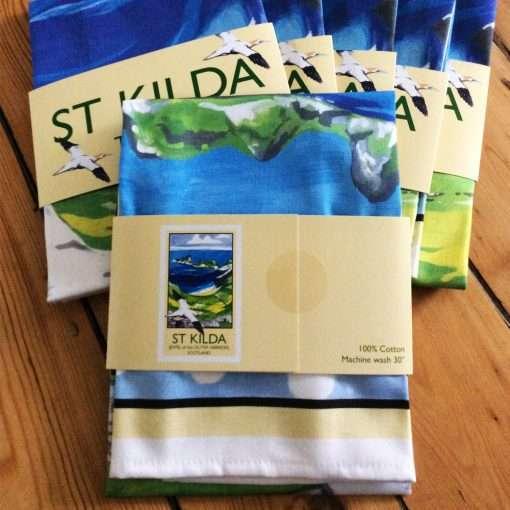St Kilda Tea Towel design
